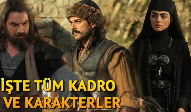 Kuruluş Osman'da kim kimdir? İşte Kuruluş Osman dizisinin oyuncuları ve karakterleri