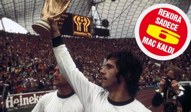 Gözünü Müller'in rekorlarına dikti