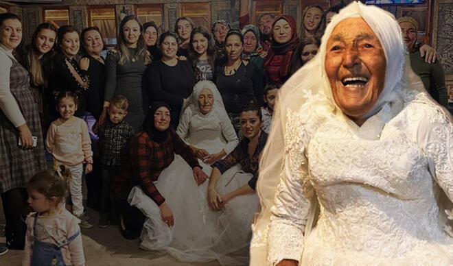 Yer: Antalya... 85 yaşında muradına erdi