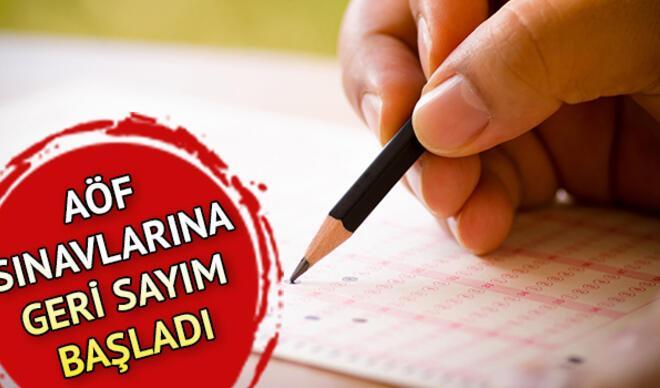 AÖF sınav giriş yerleri ne zaman açıklanacak? Açıköğretim vize sınavları ne zaman?