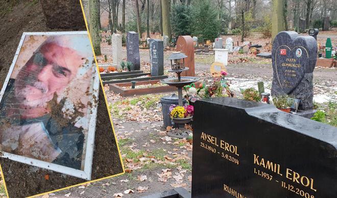 Akli dengesi bozuk kadın aracını Müslüman mezarlığına sürdü