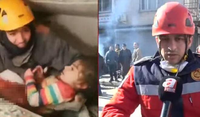 Yüsra bebeğin kurtuluşunda yürek yakan gerçek: 'Babası kalkan olmuş'
