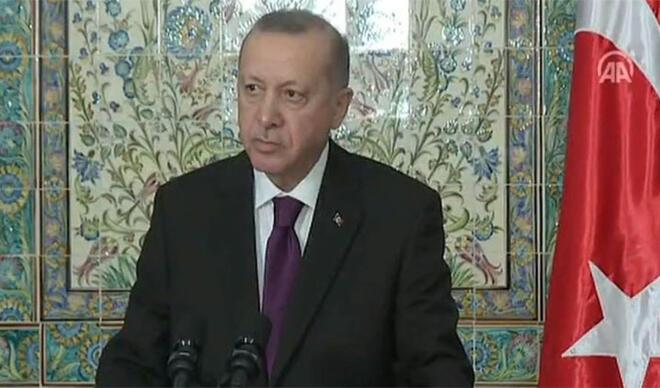 Cumhurbaşkanı Erdoğan'dan Cezayir'de vize açıklaması