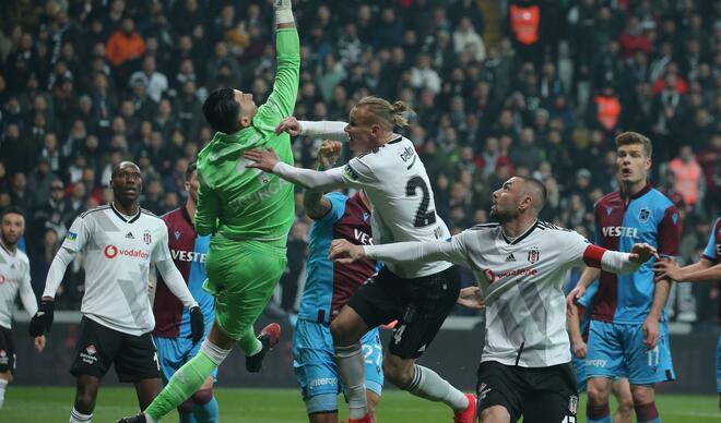 Beşiktaş-Trabzonspor maçından en özel kareler!