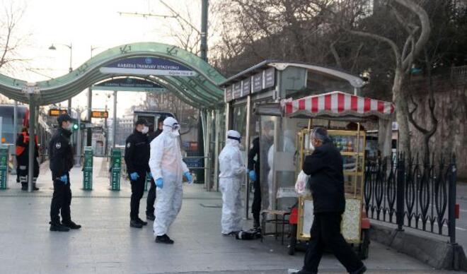 Ateşi çıkmayan İranlı hırsızlık şüphelisi, öksürerek polisten kurtulmaya çalıştı