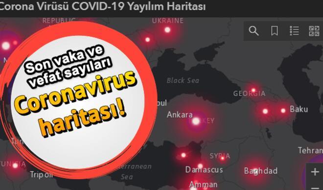 Corona Türkiye haritası 31 Mart! Coronavirus Map ile vaka ve ölüm sayısı için son durum