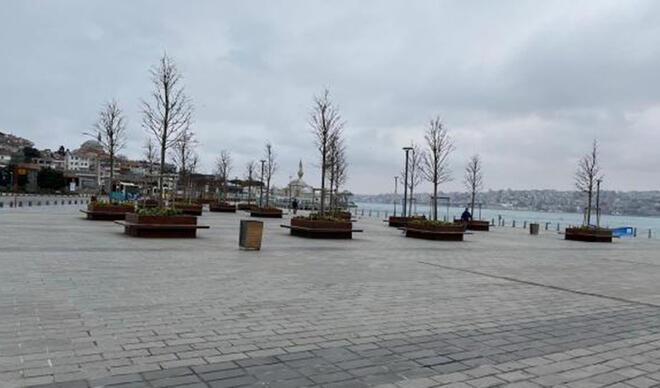 Üsküdar Meydanı'nda sessizlik sürüyor