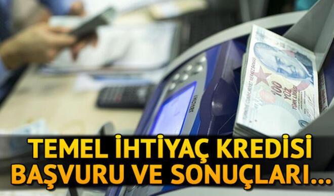 Ziraat Bankası, Halkbank, Vakıfbank bireysel ihtiyaç kredisi başvuru ekranı: Temel ihtiyaç destek kredisi başvuru sonuçları sorgulama
