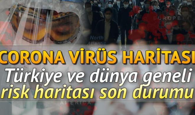 Corona Virüs Türkiye tablosunda son durum: 26 Mayıs dünyada koronavirüs (korona virüs) vaka ve ölüm sayısı haritası
