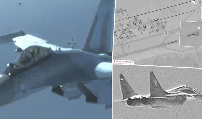 ABD, Rus uçaklarının fotoğraflarını yayınladı! Rusya'dan jet yanıt