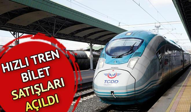 Tren seferleri başladı mı, ne zaman başlayacak? Yüksek Hızlı tren (YHT) biletleri satışa çıktı mı?