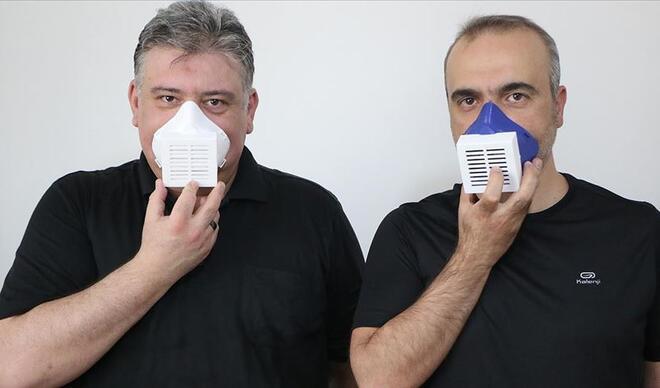 Öğretim üyelerinden virüs ve mikropları öldüren maske