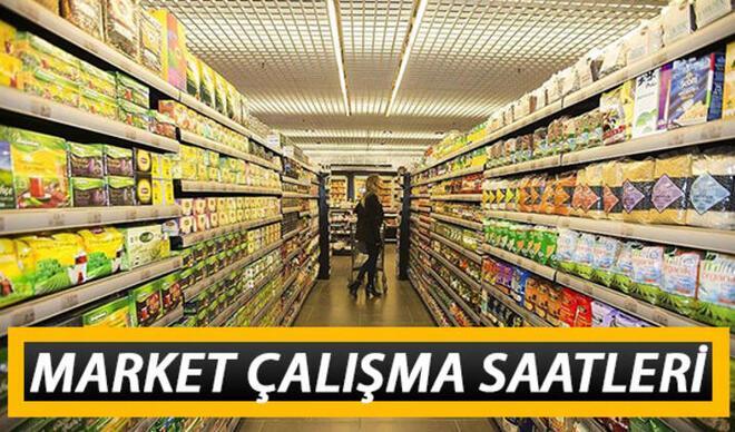 Marketler bugün saat kaça kadar açık, kaçta kapanıyor? A101, Migros, ŞOK, BİM, Carrefour kapanış saatleri