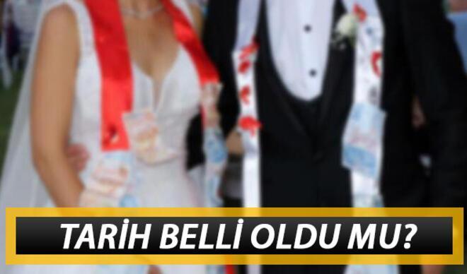 Düğünler ne zaman başlayacak? Düğün salonları ne zaman açılıyor?
