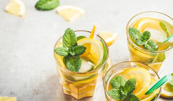 Evde buzlu çay yapalım, yaz boyu serin serin içelim