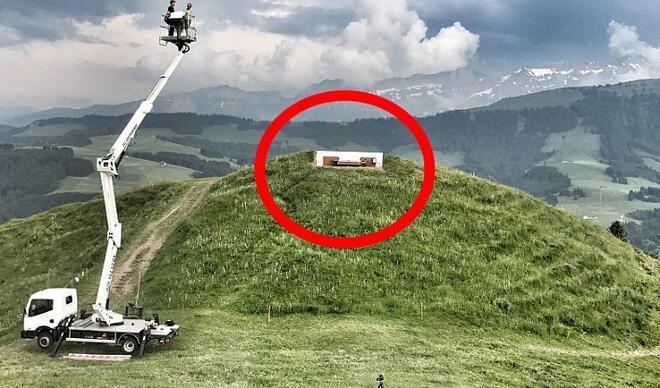 Ne çatı var ne de duvar!6 bin 463 fit yükseklikte sıra dışı bir otel