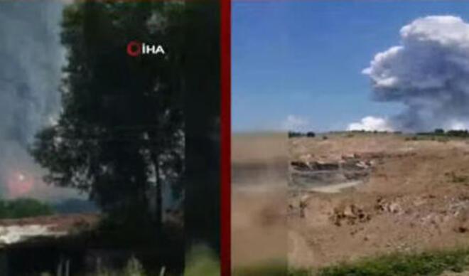 Hava fişek fabrikası patlamasının ardından yayılan gaz zehirli mi? Kızıl Başkanı'ndan son dakika uyarısı