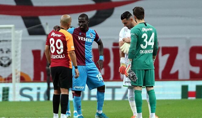 Galatasaray-Trabzonspor maçından en özel kareler!