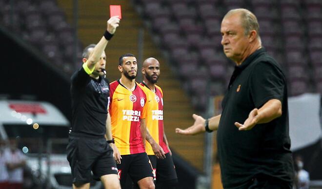 Son Dakika | Galatasaray-Trabzonspor maçında kırmızı kart! Feghouli'ye tepki büyük...