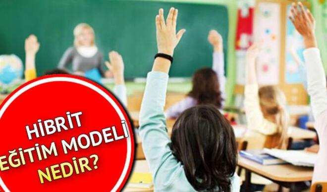 Hibrit eğitim nedir, ne demek? 2020 2021 yılı hibrit eğitim modeliyle ilgili MEB açıklamaları!