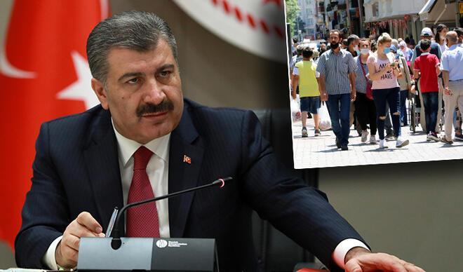 Sağlık Bakanı Koca'dan maske ve sosyal mesafe uyarısı