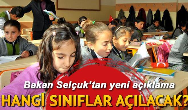 Son dakika haberi: 2. sınıflar ve diğer sınıflar için okullar ne zaman açılacak? Milli Eğitim Bakanı CNN Türk canlı yayınında açıkladı!