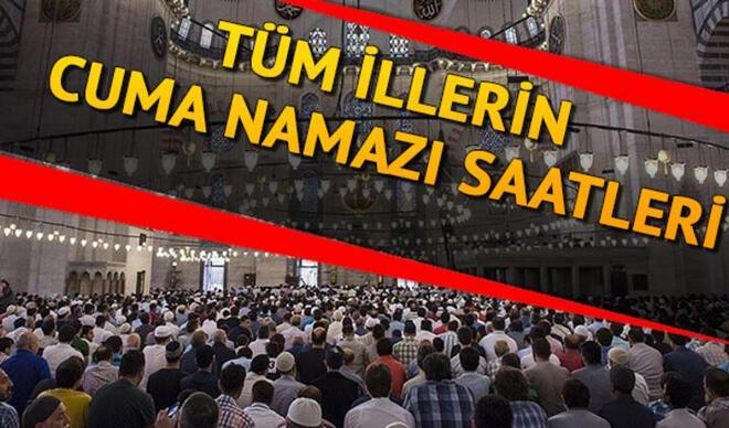 Cuma namazı saatleri 25 Eylül - Cuma namazı saat kaçta kılınacak? Diyanet takvimi İstanbul Ankara İzmir ve il il cuma namazı saati
