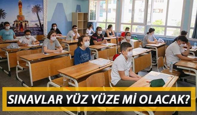 Sınavlar nasıl olacak, yüz yüze mi yapılacak? Okul sınavları ile ilgili Bakan Selçuk'tan açıklama