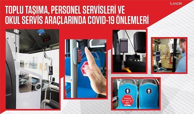 Anadolu Isuzu toplu taşıma araçlarında Covid-19'a karşı önlem paketi geliştirdi.