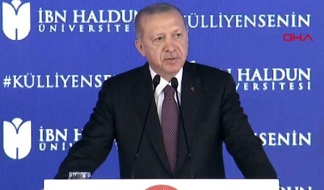 """Cumhurbaşkanı Erdoğan'dan """"topyekün eğitim öğretim reformu"""" mesajı"""