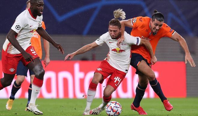 Leipzig - Medipol Başakşehir maçından özel fotoğraflar