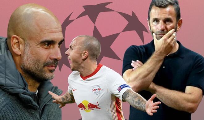 Pep Guardiola göndermişti! Leipzig maçında Başakşehir'in belalısı oldu...