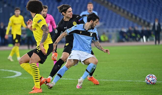 Lazio - Borussia Dortmund maçından çok özel fotoğraflar