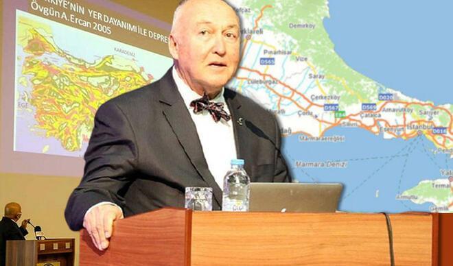 Prof. Dr. Ercan'dan deprem uyarısı…  İstanbul'daki en riskli bölgeleri açıkladı