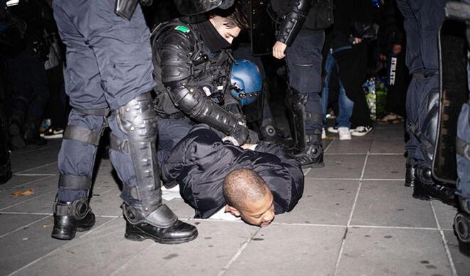 O polislere görevden uzaklaştırma!