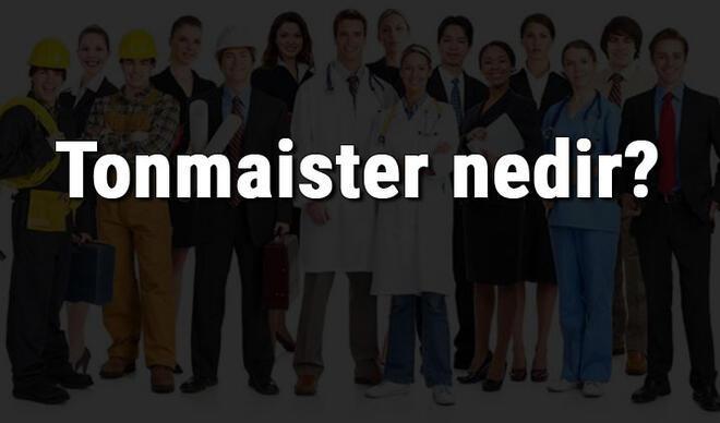 Tonmaister nedir, ne iş yapar ve nasıl olunur? Tonmaister olma şartları, maaşları ve iş imkanları