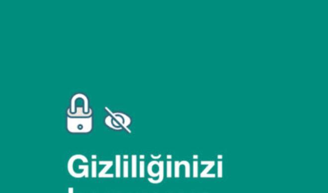 WhatsApp'tan Türkiye ile ilgili flaş açıklama