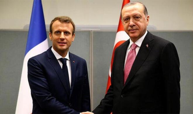 Fransa Cumhurbaşkanı Macron'dan Cumhurbaşkanı Erdoğan'a mektup