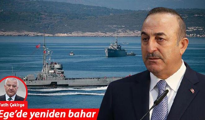 Ege'de yeniden bahar-Çavuşoğlu'ndan Yunan heyetine: 'Gelin sizi Antalya'da ağırlayalım'