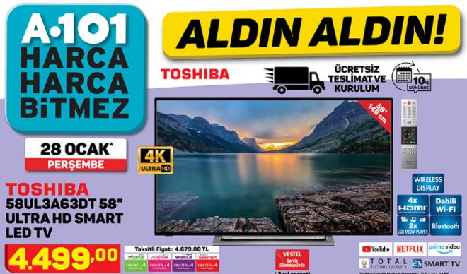 A101 28 Ocak aktüel ürünler kataloğu yayımlandı! A101'e bugün neler geldi?