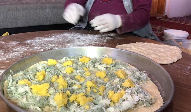 Göğermiş peynirli Kars ketesini tanıttı, devlet adamlarına önerdi