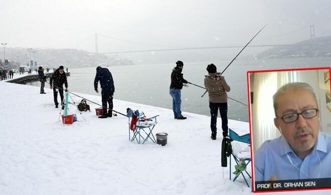 İstanbul Boğazı donacak mı? Prof. Dr. Orhan Şen 'saçmalık' diyerek açıkladı…