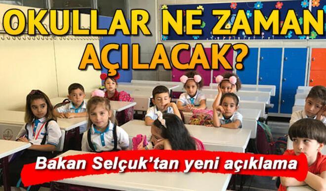 MEB'ten okullara ilişkin duyuru: Okullar hangi illerde açıldı? Sınavlar ne zaman yapılacak?