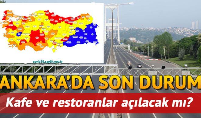 Ankara'da restoran, kafeler ve lokantalar açılacak mı? Hafta sonu sokağa çıkma kısıtlaması kaldırıldı mı? İşte son bilgiler