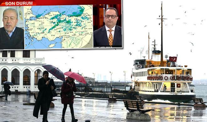 Prof. Dr. Orhan Şen'den yağış uyarısı! Çarşamba'dan itibaren etkili olacak
