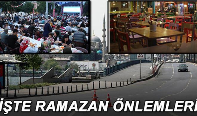 Ramazanda sokağa çıkma yasağı var mı? Bayramda yasak olacak mı? İşte Ramazan ayı kısıtlamaları detayları