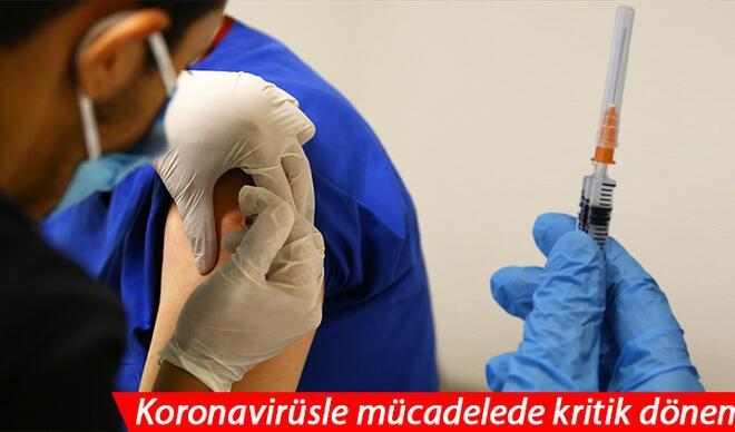 Temmuza kadar 32 milyon aşı