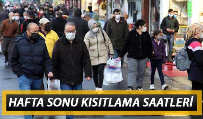 Pazar günü sokağa çıkma yasağı olan iller: Sokağa çıkma kısıtlaması ne zaman bitecek? İçişleri Bakanlığı saatleri açıkladı