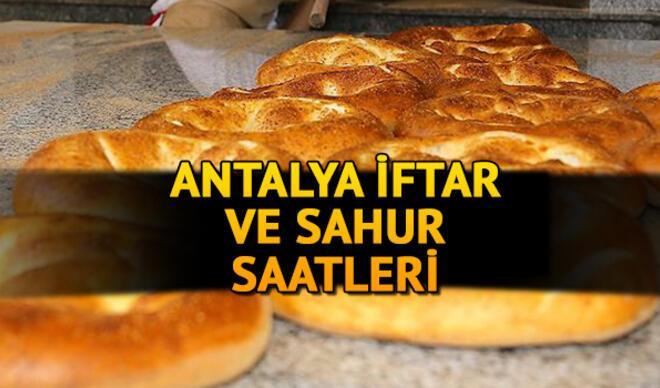 Antalya iftar saati kaçta? 2021 Antalya iftar, akşam ezanı ve sahur vakti