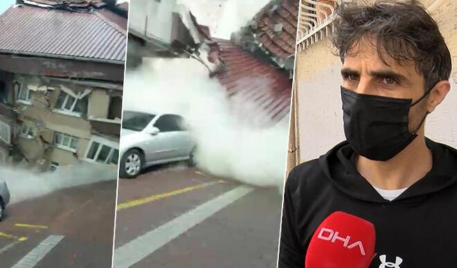 Zeytinburnu'nda faciayı önleyen kahraman konuştu! Kapı kapı dolaşıp uyarmış